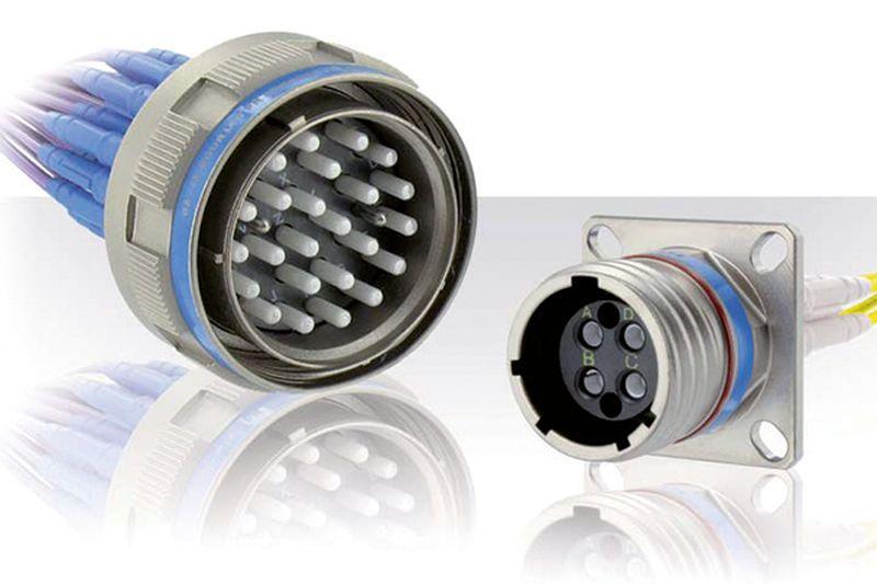 Fibre-optic connectors (ELIO)